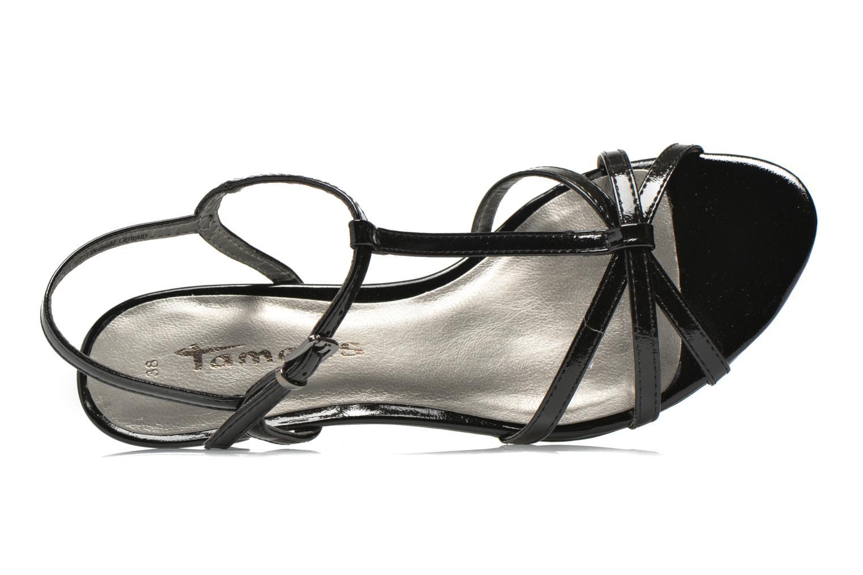 Sandales et nu-pieds Tamaris Zerofa Noir vue gauche