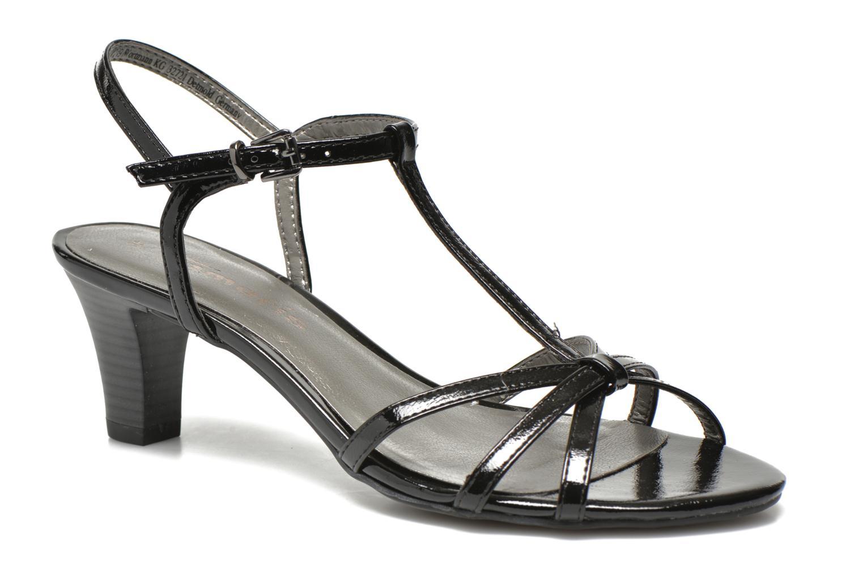 Sandales et nu-pieds Tamaris Zerofa Noir vue détail/paire