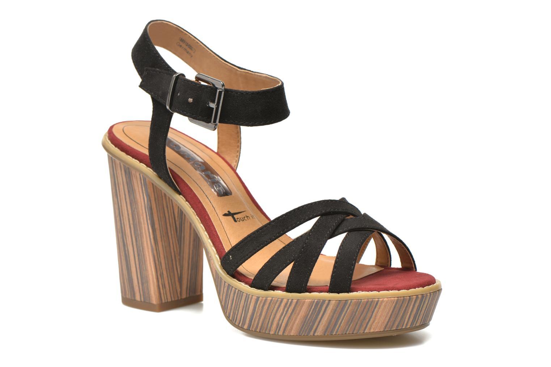 Sandales et nu-pieds Tamaris Atraba Noir vue détail/paire