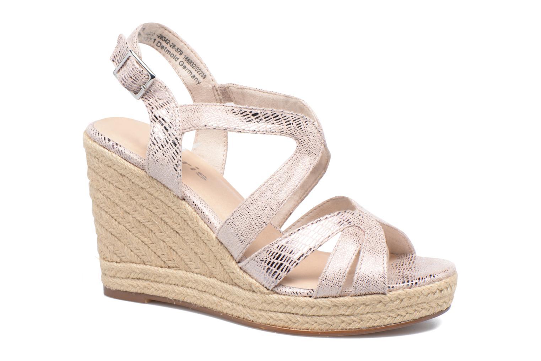Sandales et nu-pieds Tamaris Pobafu Rose vue détail/paire