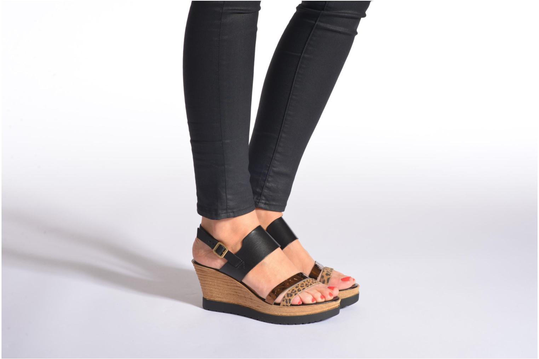 Sandalen Tamaris Dukoka mehrfarbig ansicht von unten / tasche getragen