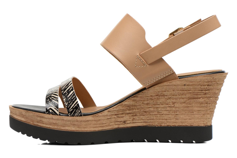 Sandales et nu-pieds Tamaris Dukoka Multicolore vue face