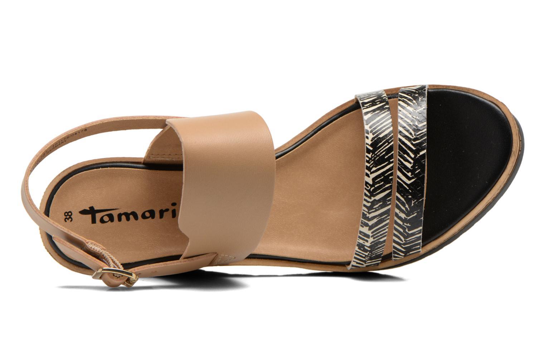 Sandales et nu-pieds Tamaris Dukoka Multicolore vue gauche