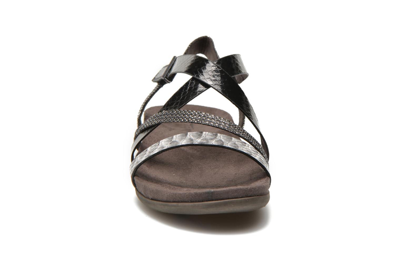 Sandales et nu-pieds Tamaris Nurina Noir vue portées chaussures