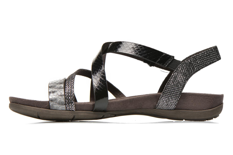 Sandales et nu-pieds Tamaris Nurina Noir vue face