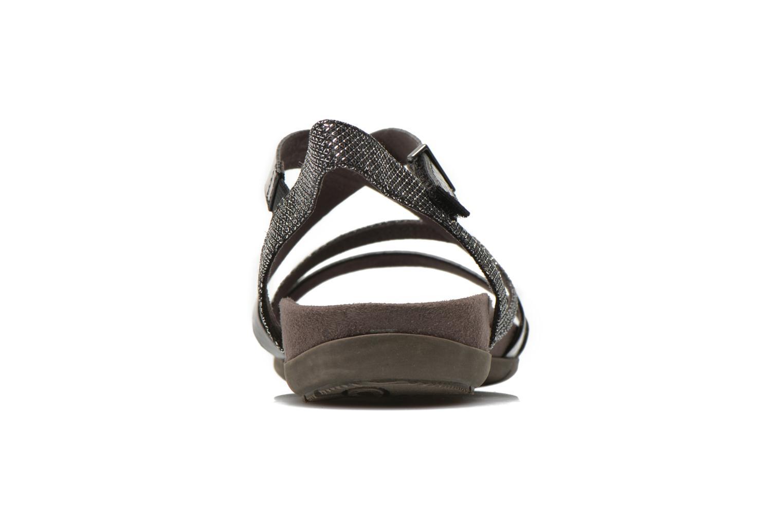 Sandales et nu-pieds Tamaris Nurina Noir vue droite