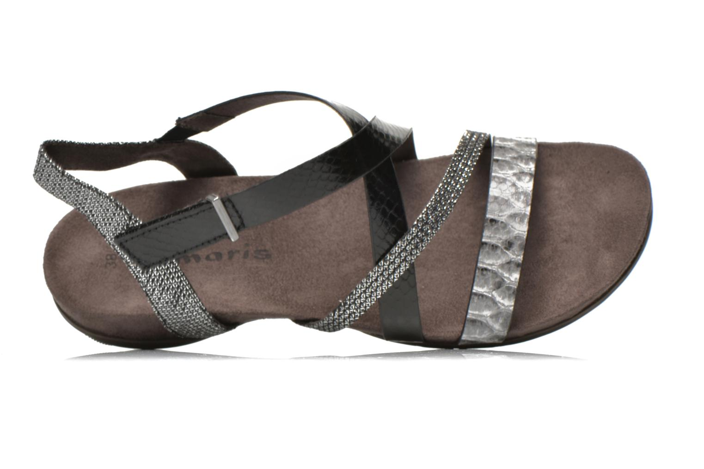Sandales et nu-pieds Tamaris Nurina Noir vue gauche