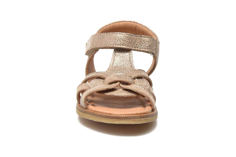 Sandales et nu-pieds Bisgaard Evi Argent vue portées chaussures