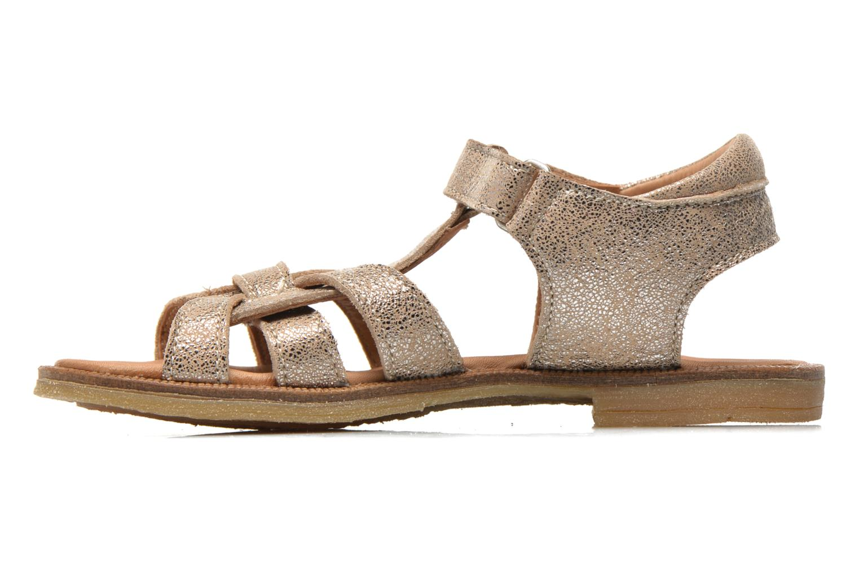 Sandales et nu-pieds Bisgaard Evi Argent vue face