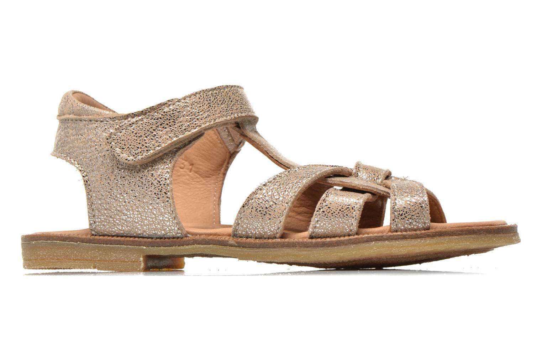 Sandales et nu-pieds Bisgaard Evi Argent vue derrière
