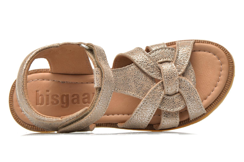 Sandales et nu-pieds Bisgaard Evi Argent vue gauche
