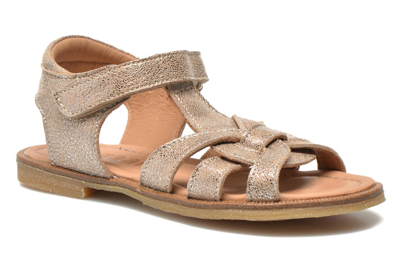 Sandales et nu-pieds Bisgaard Evi Argent vue détail/paire