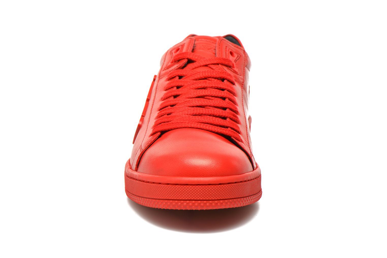 Baskets Kenzo Tennix Rouge vue portées chaussures