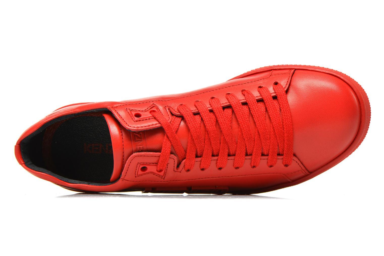 Baskets Kenzo Tennix Rouge vue gauche