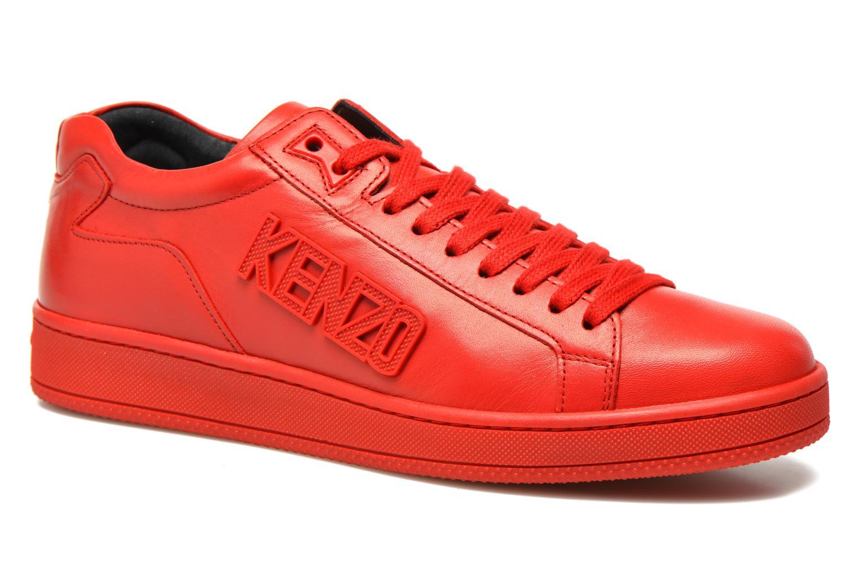 Baskets Kenzo Tennix Rouge vue détail/paire