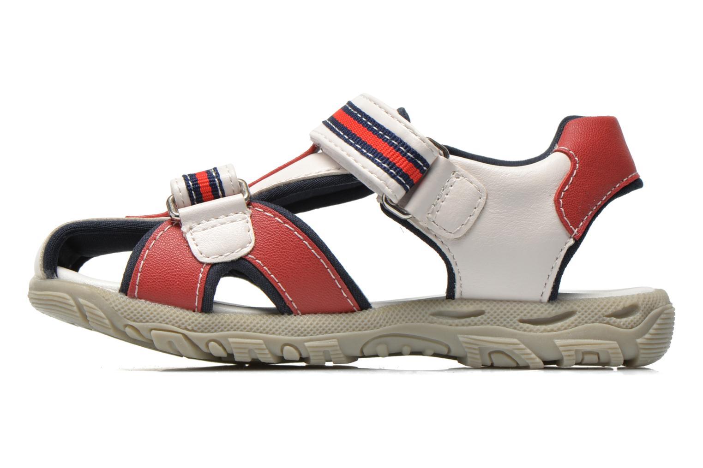 Sandales et nu-pieds Chicco Cucciolo Blanc vue face