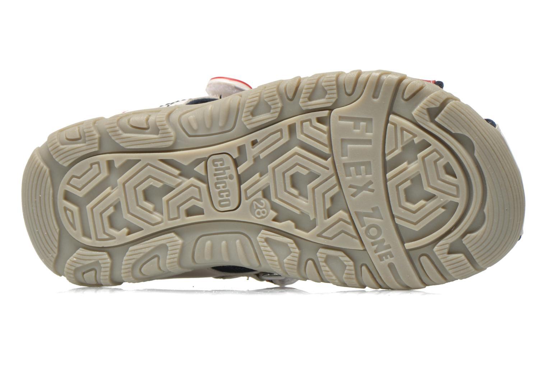 Sandales et nu-pieds Chicco Cucciolo Blanc vue haut