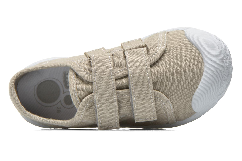 Sneaker Chicco Cambridge beige ansicht von links