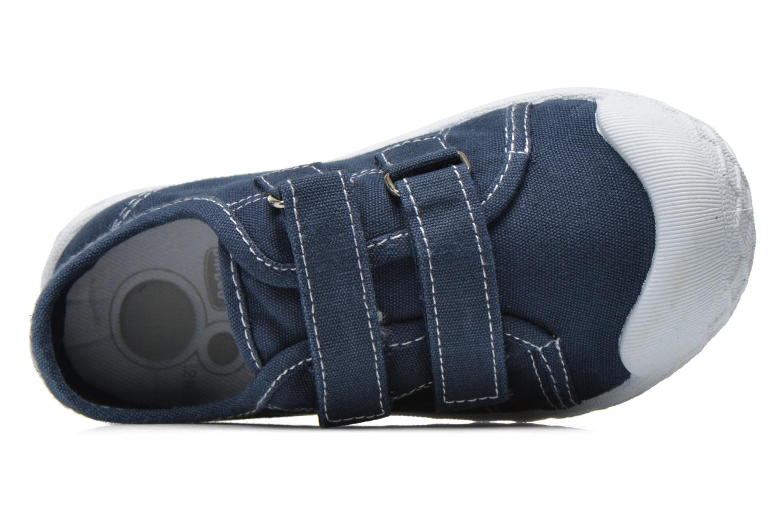 Trainers Chicco Cambridge Blue view from the left