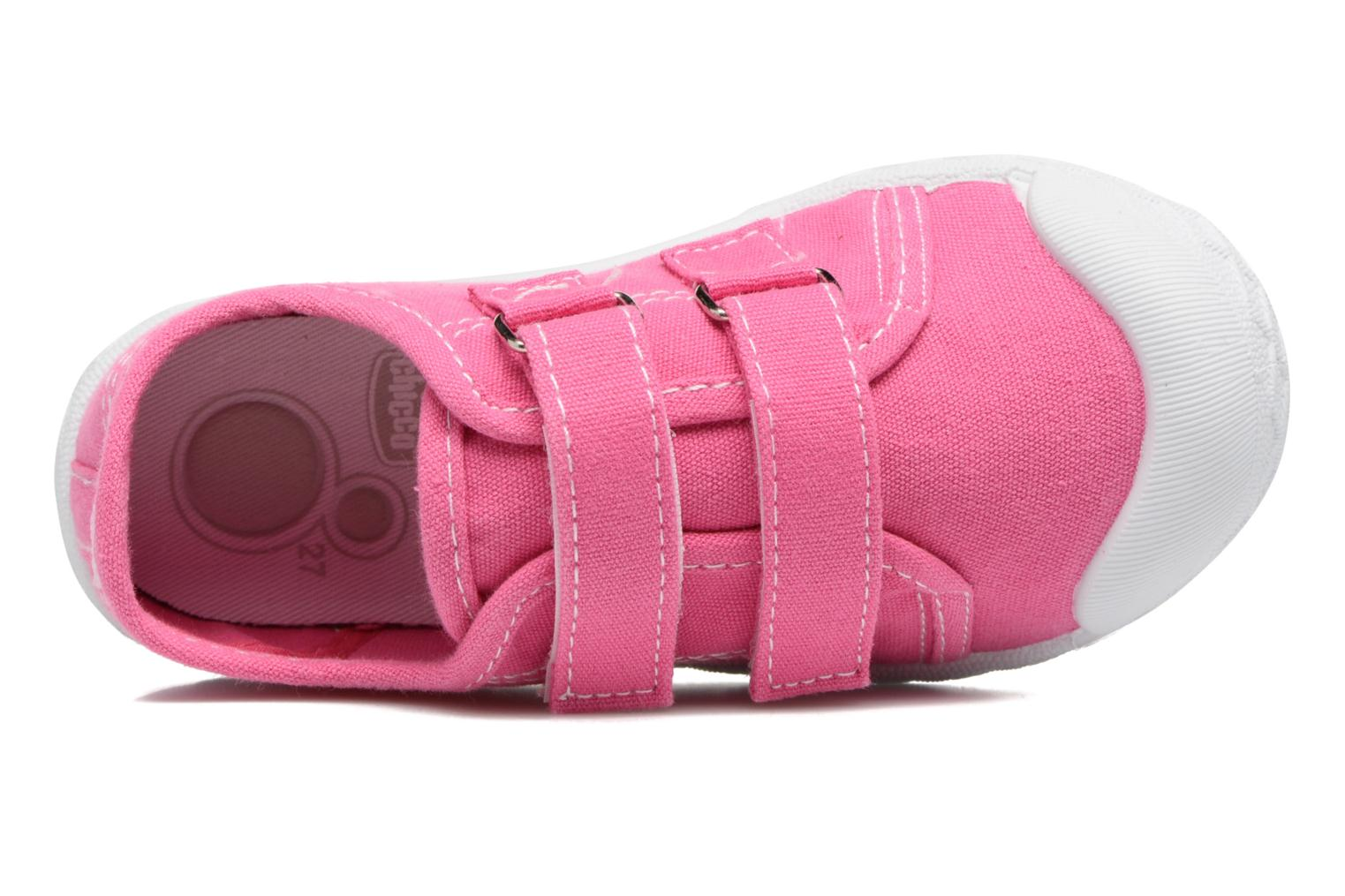 Trainers Chicco Cambridge Pink view from the left