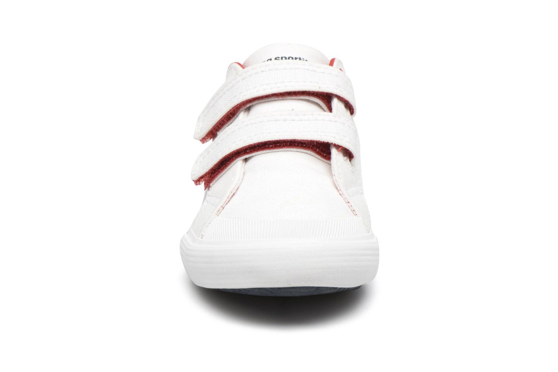 Baskets Le Coq Sportif Saint Gaetan Inf Blanc vue portées chaussures