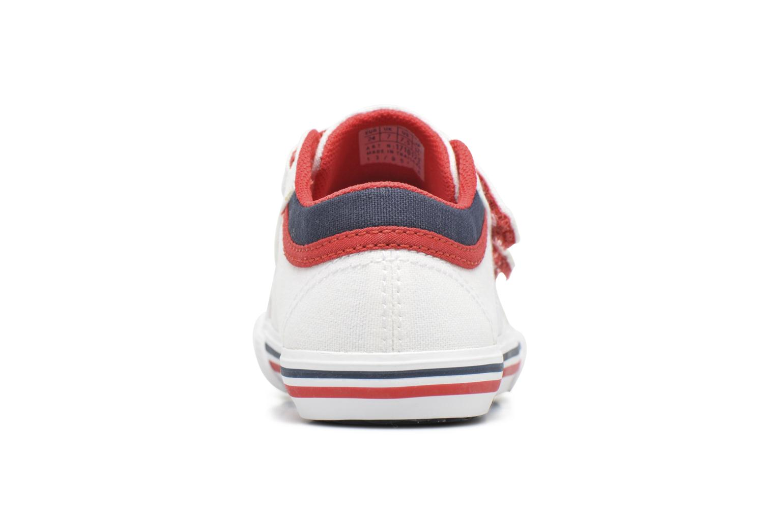 Trainers Le Coq Sportif Saint Gaetan Inf White view from the right
