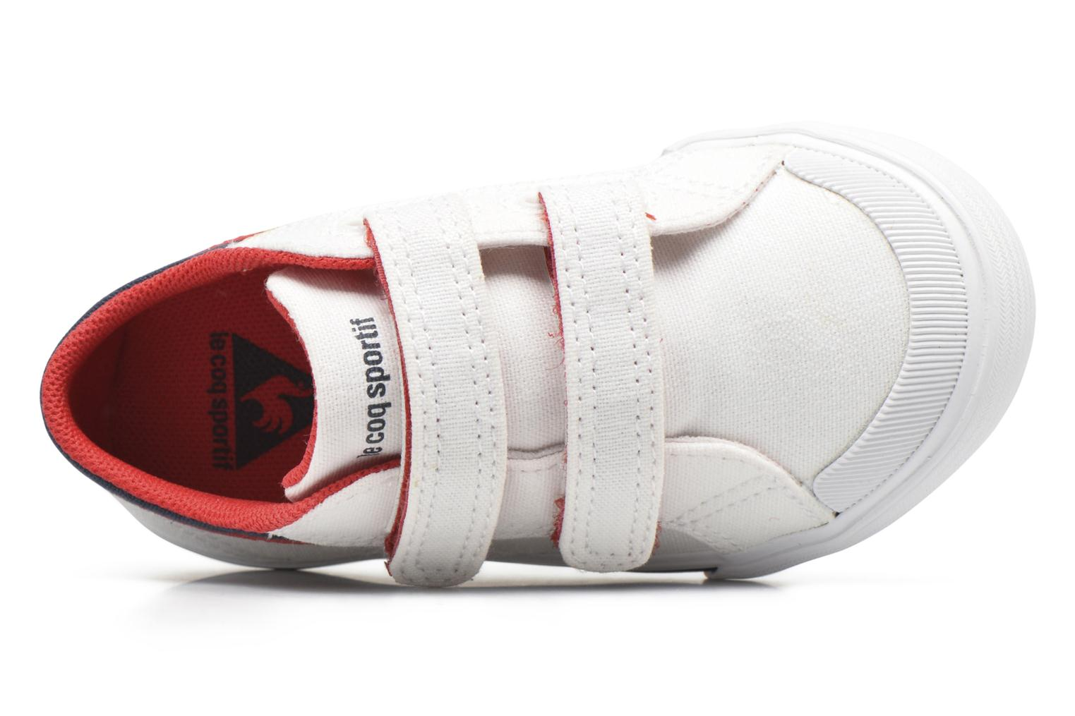 Trainers Le Coq Sportif Saint Gaetan Inf White view from the left