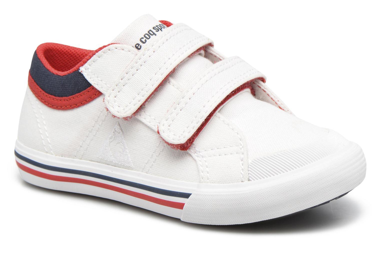 Sneakers Le Coq Sportif Saint Gaetan Inf Hvid detaljeret billede af skoene