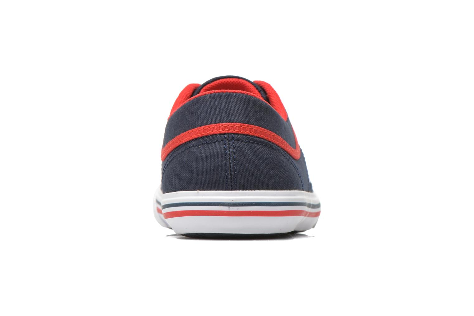 Trainers Le Coq Sportif St Gaetan GS BOY cvs Blue view from the right