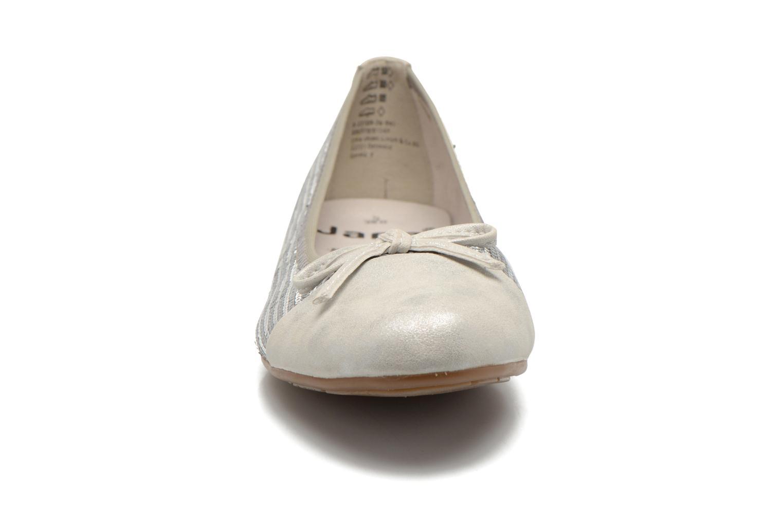 Ballerines Jana shoes Iliana Argent vue portées chaussures