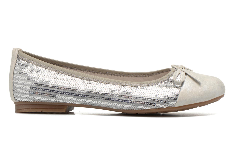 Ballerines Jana shoes Iliana Argent vue derrière