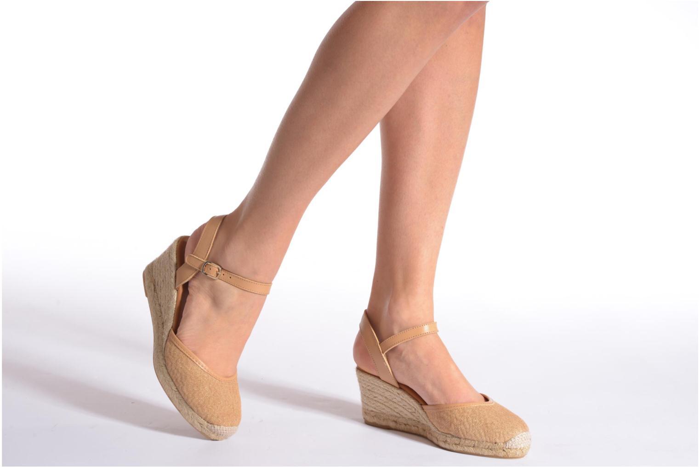 Sandales et nu-pieds Maypol Lolita Bleu vue bas / vue portée sac