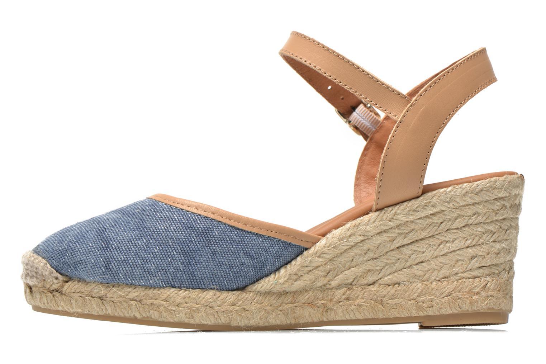 Sandales et nu-pieds Maypol Lolita Bleu vue face