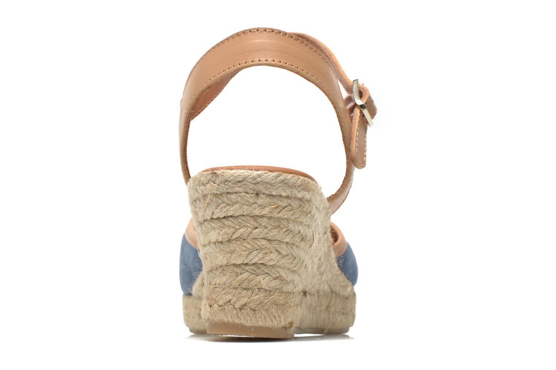 Sandales et nu-pieds Maypol Lolita Bleu vue droite
