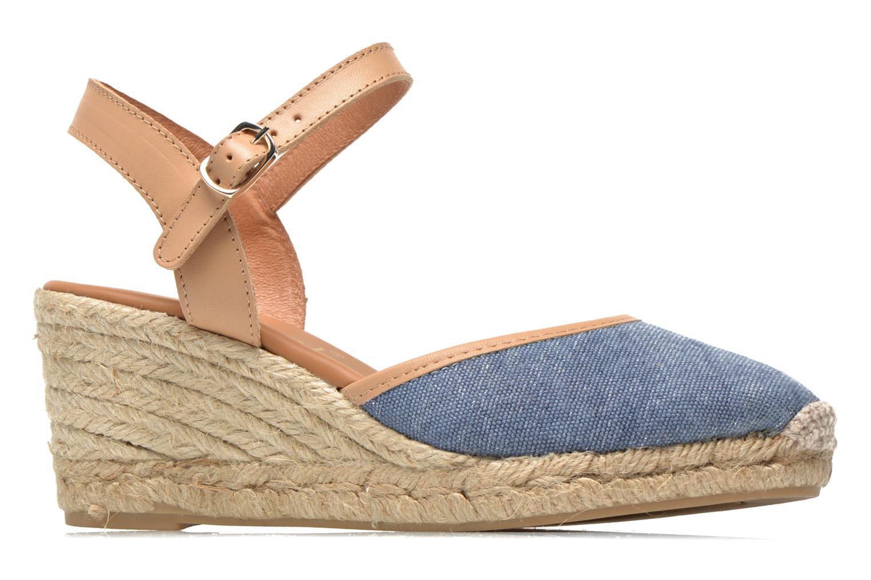 Sandales et nu-pieds Maypol Lolita Bleu vue derrière