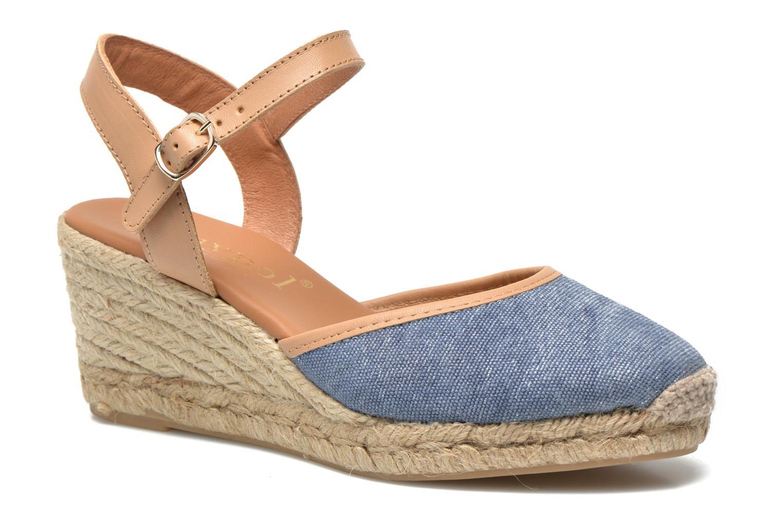 Sandales et nu-pieds Maypol Lolita Bleu vue détail/paire