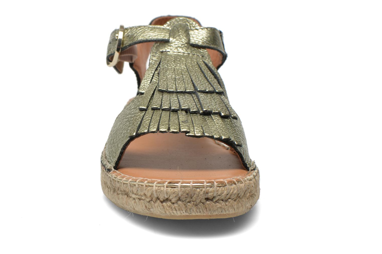 Sandales et nu-pieds Maypol Mohica Or et bronze vue portées chaussures