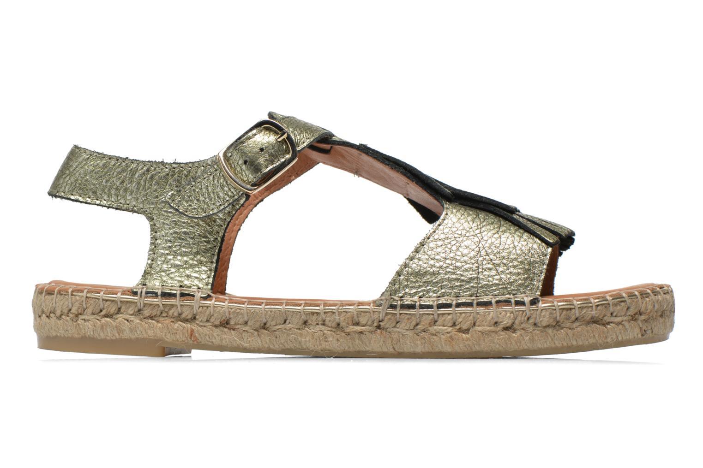 Sandales et nu-pieds Maypol Mohica Or et bronze vue derrière