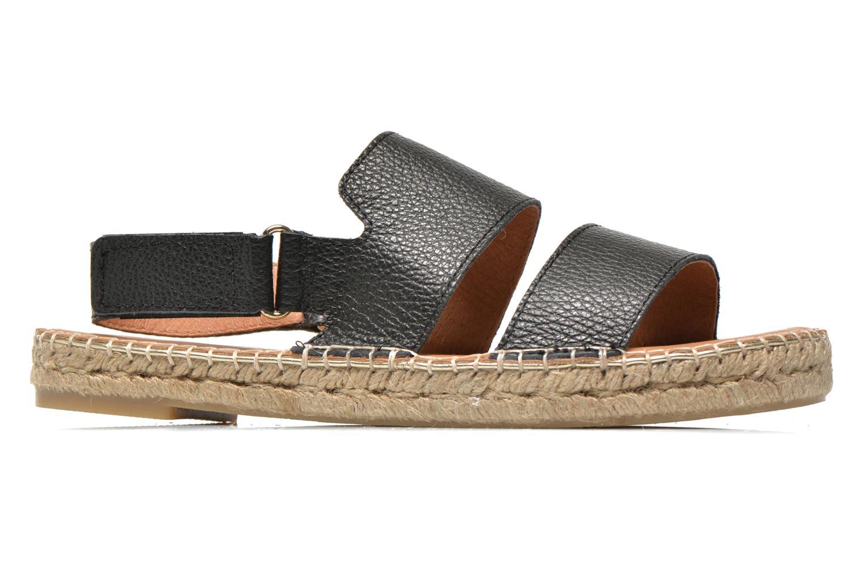 Sandales et nu-pieds Maypol Moss Noir vue derrière