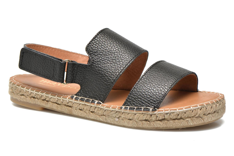 Sandales et nu-pieds Maypol Moss Noir vue détail/paire