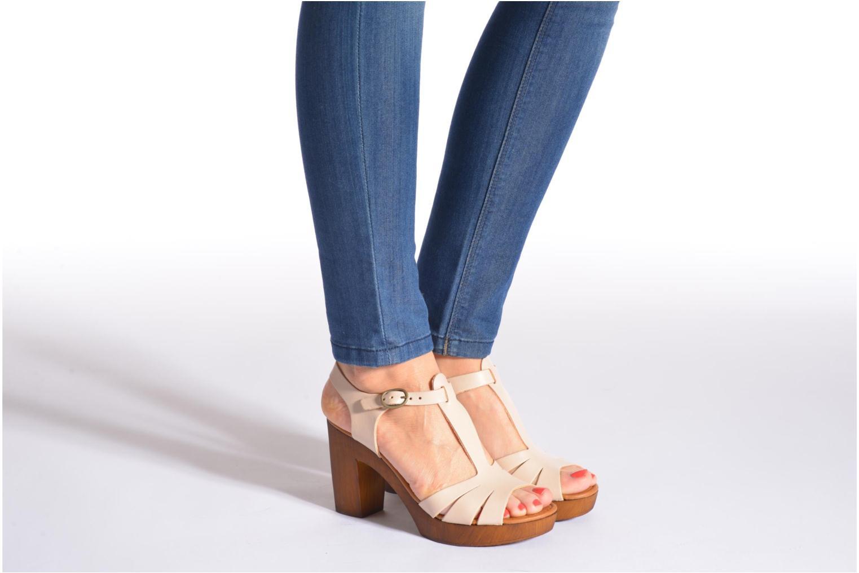Sandali e scarpe aperte Georgia Rose Dobois Beige immagine dal basso