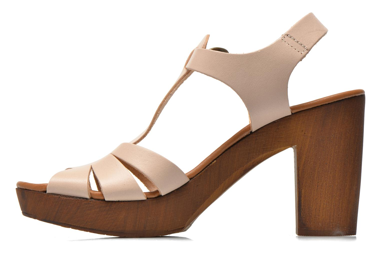Sandales et nu-pieds Georgia Rose Dobois Beige vue face