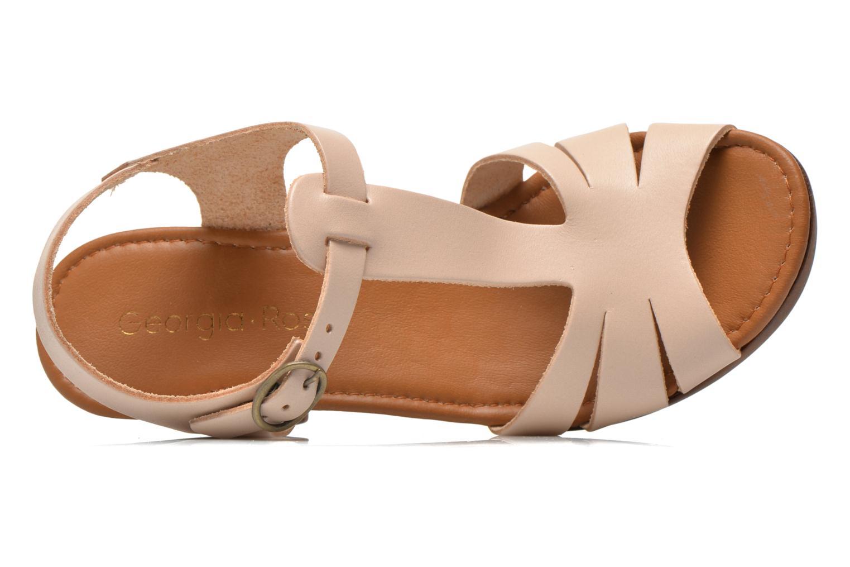 Sandales et nu-pieds Georgia Rose Dobois Beige vue gauche