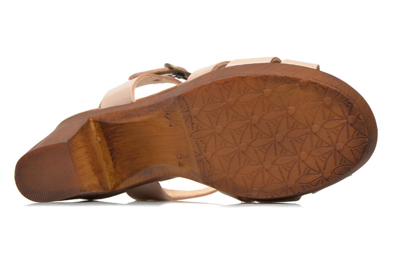 Sandales et nu-pieds Georgia Rose Dobois Beige vue haut