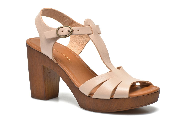 Sandales et nu-pieds Georgia Rose Dobois Beige vue détail/paire