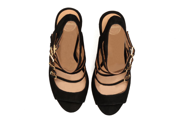 Sandales et nu-pieds Made by SARENZA Loulou au Luco #7 Noir vue portées chaussures