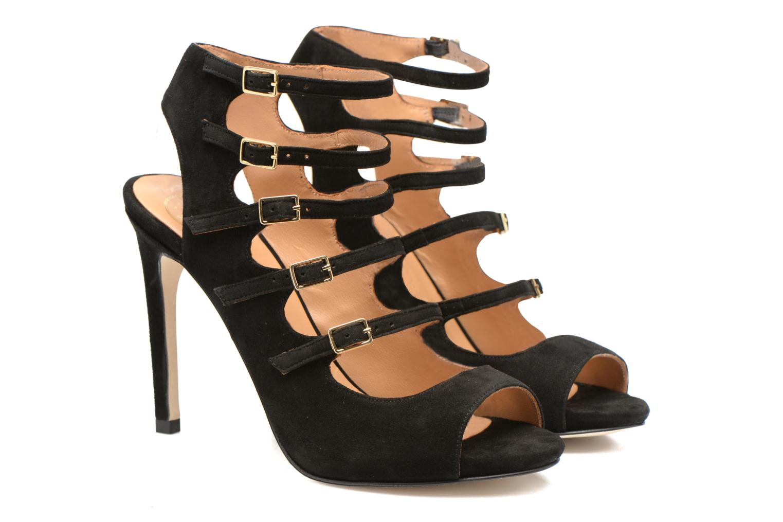 Sandales et nu-pieds Made by SARENZA Loulou au Luco #7 Noir vue derrière