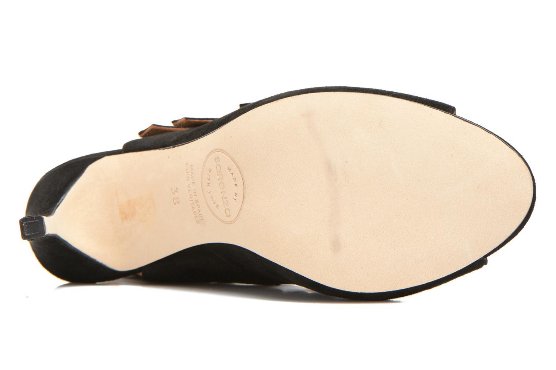 Sandales et nu-pieds Made by SARENZA Loulou au Luco #7 Noir vue haut