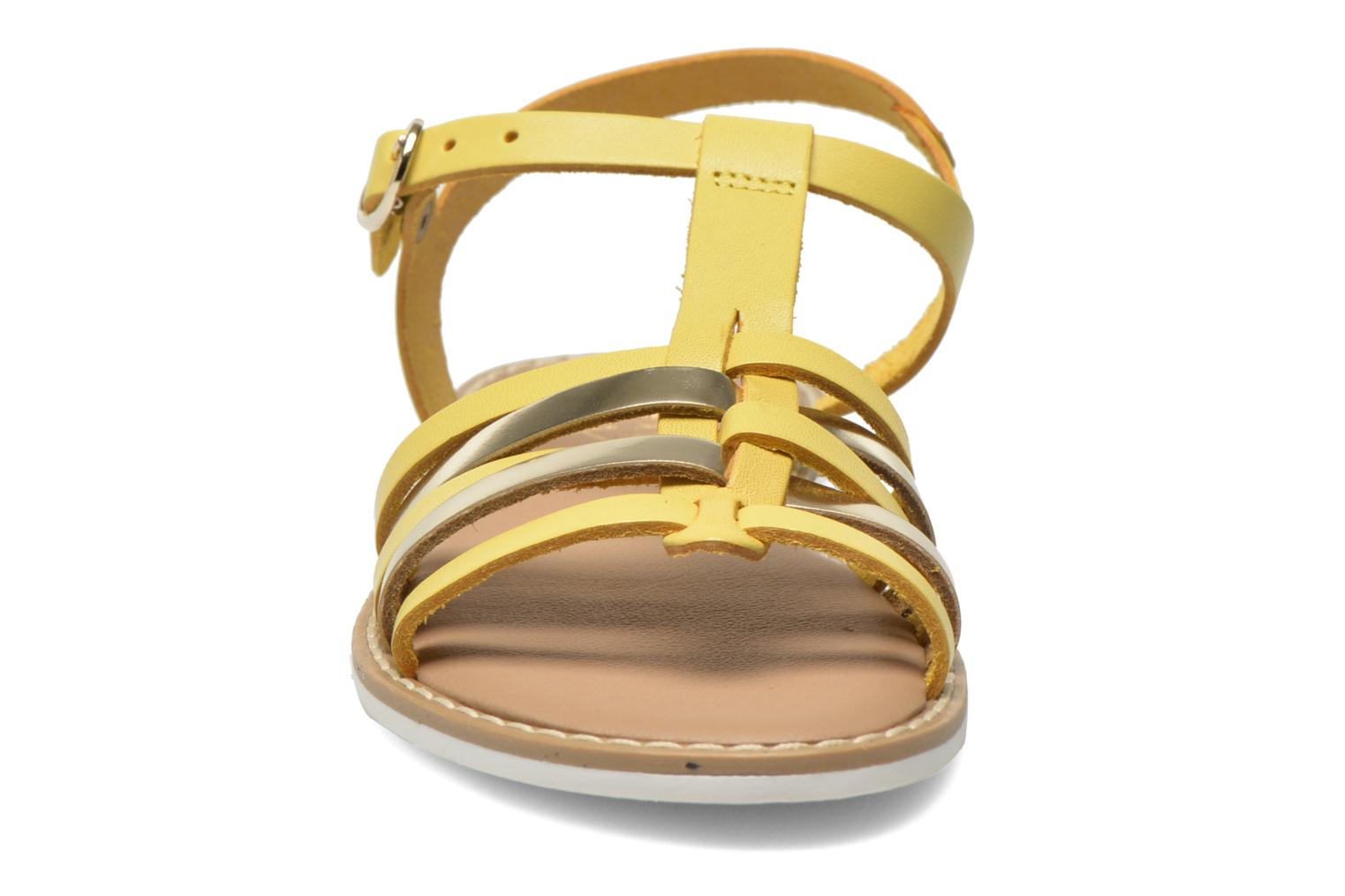 Sandals I Love Shoes Dobrides Yellow model view