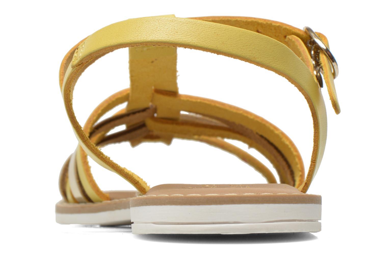 Sandalias I Love Shoes Dobrides Amarillo vista lateral derecha